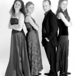 Four Temperaments Baroque enselmble; Kinga Gaborjani, Soile Stratkauskas, Pawel Siwczak, Eleanor Harrison by Andres Felipé